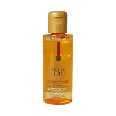 L'OREAL MYTHIC OIL SHAMPOO CAPELLI GROSSI TRAVEL SIZE 75 ML