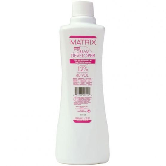 MATRIX CREAM DEVELOPER 12% 40 VOL 1000 ML