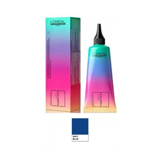 L'OREAL COLORFUL HAIR BLU NAVY - 90 ML