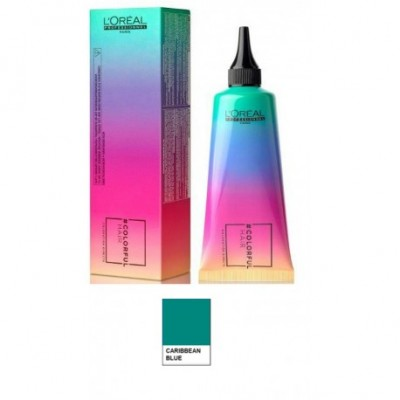 L'OREAL COLORFUL HAIR BLU CARAIBI - 90 ML