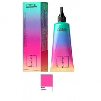 L'OREAL COLORFUL HAIR SORBETTO ROSA - 90 ML