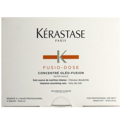 KERASTASE FUSIO DOSE CONCENTRE NUTRITIVE 10X12 ML