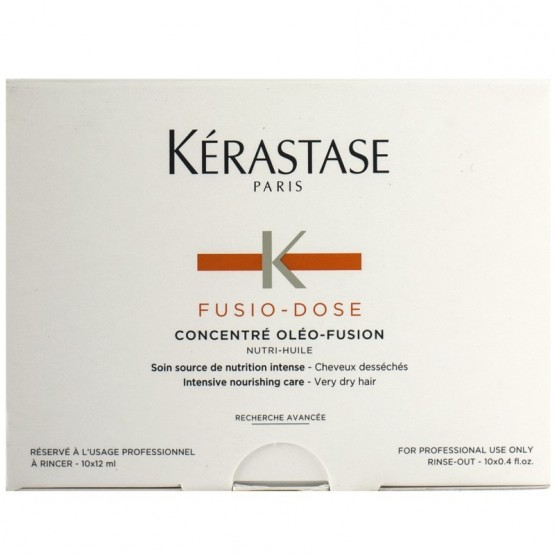 KERASTASE FUSIO DOSE CONCENTRE NUTRITIVE 10X12 ML