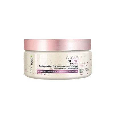 MATRIX BIOLAGE SUGAR SHINE SYSTEM POLISH HAIR SCRUB 220 GR