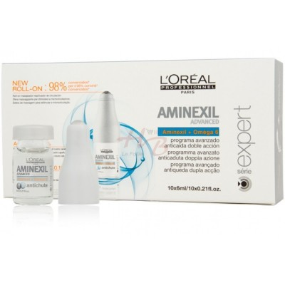 L'OREAL SERIE EXPERT AMINEXIL ADVANCED FIALE ANTICADUTA 10X6 ML