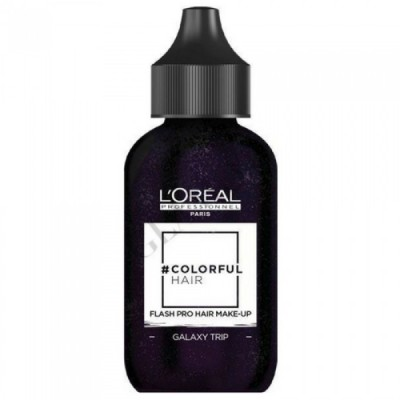 L'OREAL COLORFUL HAIR FLASH PRO HAIR MAKE-UP GALAXY TRIP 60 ML