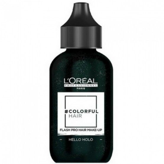 L'OREAL COLORFUL HAIR FLASH PRO HAIR MAKE-UP HELLO HOLO 60 ML