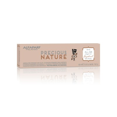 ALFAPARF PRECIOUS NATURE HAIR COLOR 7.01 BIONDO MEDIO NACRE 60 ML