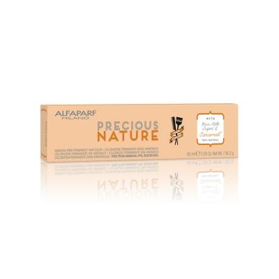ALFAPARF PRECIOUS NATURE HAIR COLOR 7.35 BIONDO MEDIO DORATO MOGANO 60 ML