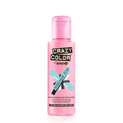 CRAZY COLOR BUBBLEGUM BLUE 100 ML