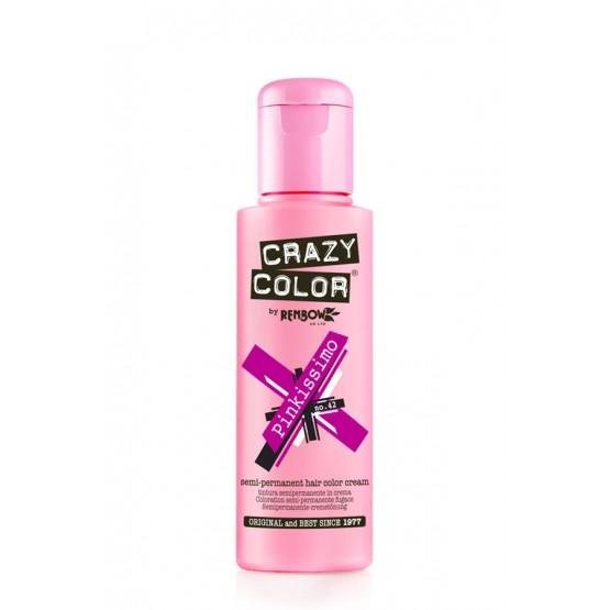 Crazy Color Pinkissimo colorazione semipermanente senza ammoniaca 100 ml