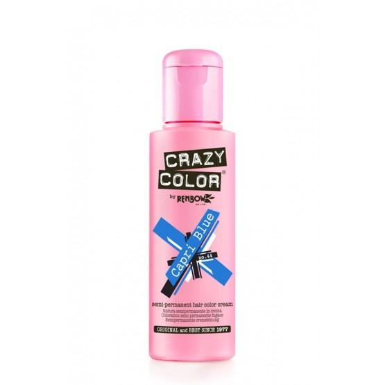 Crazy Color Capri Blue colorazione semipermanente senza ammoniaca 100 ml