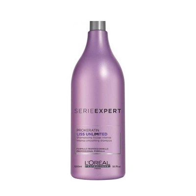 L'OREAL SERIE EXPERT LISS UNLIMITED SHAMPOO 1500 ML