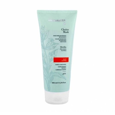 MEDAVITA CHOICE MASK RIFLESSANTE RAME 200 ML