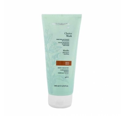 MEDAVITA CHOICE MASK RIFLESSANTE BEIGE 200 ML
