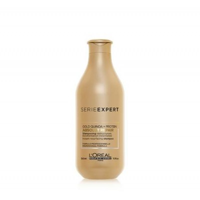 L'OREAL SERIE EXPERT ABSOLUT REPAIR GOLD QUINOA + PROTEIN SHAMPOO 300 ML