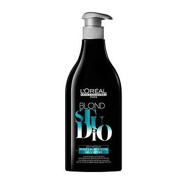 L'OREAL BLOND STUDIO POST LIGHTENING SHAMPOO 500 ML