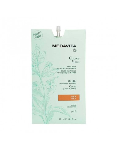 MEDAVITA CHOICE MASK RIFLESSANTE BEIGE 30 ML