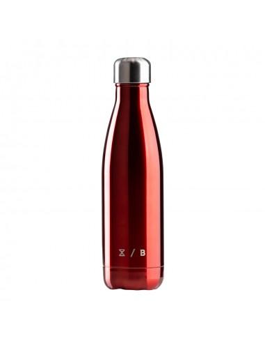 Orion Bottle Glossy Rosso borraccia termica in acciaio inox con capienza 500 ml