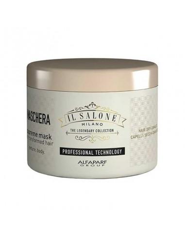 Maschera per capelli secchi e danneggiati Alfaparf Il Salone Milano Supreme Mask 500 ml