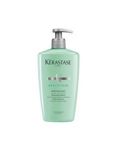 Shampoo riequilibrante per cute grassa e capelli sensibilizzati con punte secche.