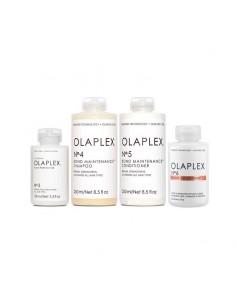 Kit Olaplex Trattamento Pre-Shampoo N°3 + Shampoo N°4 + Conditioner N°5 + Crema styling N°6