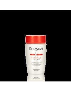 Shampoo nutriente per capelli spessi o sottili, secchi e sensibilizzati.