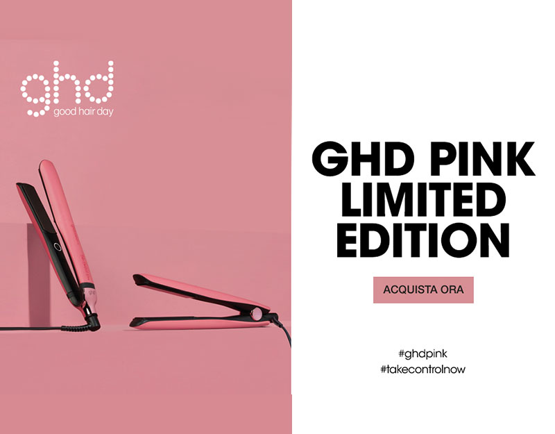 Ghd pink limited edition